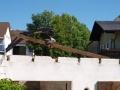 Abtragen Dachstuhl